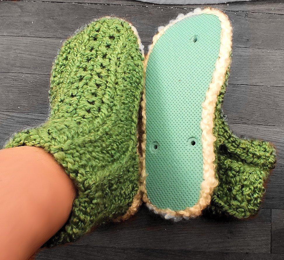 Rib Stitch Booties